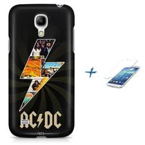 Kit Capa Case TPU Galaxy S4 Mini AC/DC acdc + Pel Vidro (BD01) - Bd cases