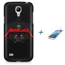 Kit Capa Case TPU Galaxy S4 Mini Metallica + Pel Vidro (BD01) - Bd cases