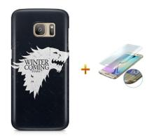 Kit Capa Case TPU Galaxy S7 Edge Game of Thrones + Pel Vidro (BD01) - Bd Cases