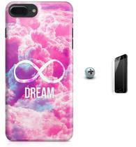 Kit Capa Case TPU iPhone 7 Plus - Dream Sonho + Pel Vidro (BD51) - Bd cases