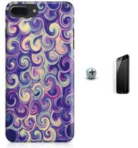 Kit Capa Case TPU iPhone 7 Plus - Espiral + Pel Vidro (BD50) - Bd cases