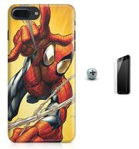 Kit Capa Case TPU iPhone 7 Plus - Homem Aranha Spider-Man + Pel Vidro (BD01) - Bd cases