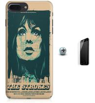 Kit Capa Case TPU iPhone 7 Plus - The Strokes + Pel Vidro (BD30) - Bd cases