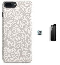 Kit Capa Case TPU iPhone 7 Plus - Vaporwave + Pel Vidro (BD50) - Bd cases