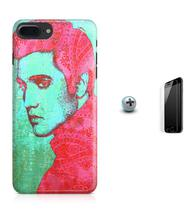 Kit Capa Case TPU iPhone 8 Plus - Elvis + Pel Vidro (BD01) - Bd cases