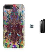 Kit Capa Case TPU iPhone 8 Plus - Ganesha + Pel Vidro (BD01) - Bd cases