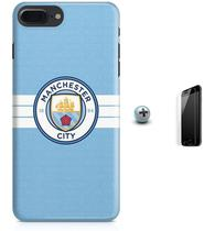 Kit Capa Case TPU iPhone 8 Plus - Manchester City Premier League + Pel Vidro (BD30) - Bd cases