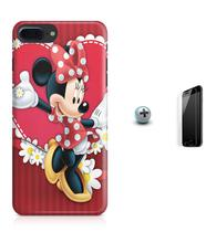 Kit Capa Case TPU iPhone 8 Plus - Minnie + Pel Vidro (BD01) - Bd cases