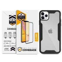 Kit Capa Dual Shock e Película Coverage Color para iPhone 11 Pro - Gshield - Apple