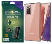Kit Capa E Película Nanocolor Hprime Galaxy Note 20 Ultra -