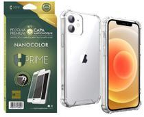 Kit Capa E Película Nanocolor Hprime iPhone 12 Mini 5.4 -