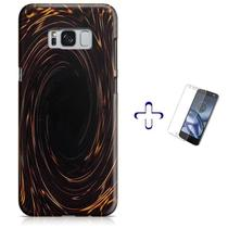 Kit Capa Galaxy S8+ Plus Yu Gi Oh + Pel Vidro (BD03) - Bd cases