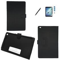 Kit Capa Galaxy Tab A T510/T515 10.1 e Can, Pelicula Preto - Bd cases