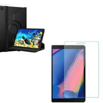 Kit Capa Giratória Tablet Samsung Galaxy Tab A8 T290/T295  + Pélicula de Vidro 8.0 (2019) -