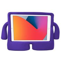 Kit Capa Ipad Pro 2017 A1701 A1709 A1852 Tela 10.5 Infantil Emborrachada Durável Alça + Pelicula - Extreme Cover