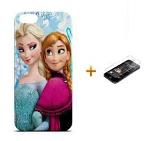 Kit Capa iPhone 5/5S Frozen +Pel.Vidro BD1 - Bd cases