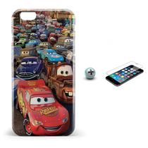 Kit Capa iPhone 6/6S Carros +Pel.Vidro BD1 - Bd cases
