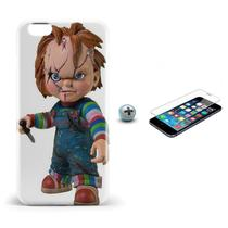 Kit Capa iPhone 6/6S Chucky +Pel.Vidro BD1 - Bd cases
