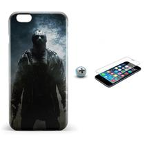 Kit Capa iPhone 6/6S Jason Voorhees +Pel.Vidro BD1 - Bd cases