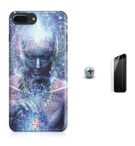Kit Capa iPhone 7 Plus - Transcendence + Pel.Vidro BD1 - Bd cases