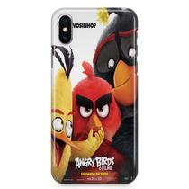 Kit Capa iPhone X - Angry Birds + Pel Vidro BD1 - Bd cases