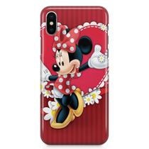 Kit Capa iPhone X - Minnie + Pel Vidro BD1 - Bd cases