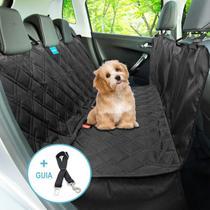 Kit Capa Pet Banco Traseiro + Cinto De Segurança Carro Universal - Duke & Dixe