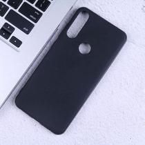Kit Capa Preta em TPU Premium Asus Zenfone Max Shot 6.2 + Película Vidro Temperado - 3d - Mx