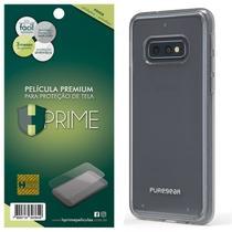Kit Capa Puregear Slim Shell Clear + Película HPrime Pet Fosca  Galaxy S10e 5.8 - Hprime / Puregear