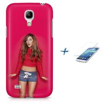 Kit Capa S4 Mini Ariana Grande + Pel Vidro BD1 - Bd cases