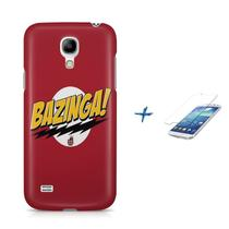 Kit Capa S4 Mini Bazinga +Pel.VidrBD1 - Bd cases