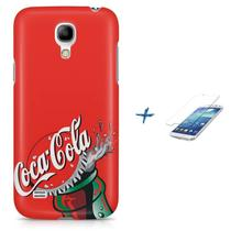 Kit Capa S4 Mini Coca-Cola Refrigerante + Pel Vidro BD1 - Bd cases