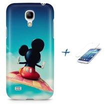 Kit Capa S4 Mini Mickey + Pel Vidro (BD02) - Bd cases