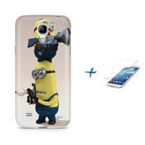Kit Capa S4 Mini Minions +Pel.VidrBD1 - Bd cases