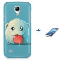 Kit Capa S4 Mini Poro League of Legends + Pel Vidro BD1 - Bd cases