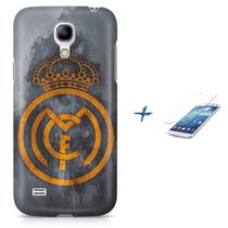 Kit Capa S4 Mini Real Madrid Futebol + Pel Vidro BD1 - Bd cases