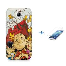 Kit Capa S4 Mini Snoopy +Pel.VidrBD1 - Bd cases
