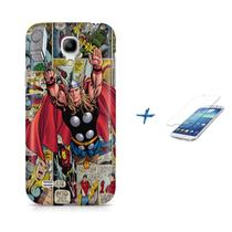 Kit Capa S4 Mini Thor (The Avengers) +Pel.VidrBD1 - Bd cases