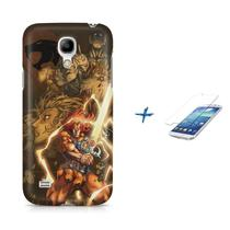 Kit Capa S4 Mini Thundercats +Pel.VidrBD1 - Bd cases
