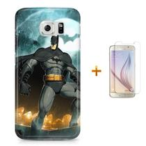 Kit Capa S6 Batman +Pel.VidrBD1 - Bd cases