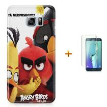 Kit Capa S6 Edge Angry Birds +Pel.VidrBD1 - Bd cases