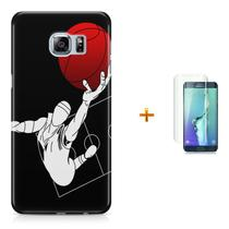 Kit Capa S6 Edge Basketball +Pel.VidrBD1 - Bd cases