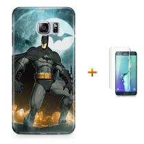 Kit Capa S6 Edge Batman +Pel.VidrBD1 - Bd cases