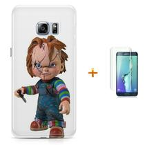 Kit Capa S6 Edge Chucky +Pel.VidrBD1 - Bd cases