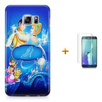 Kit Capa S6 Edge Cinderella +Pel.VidrBD1 - Bd cases