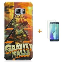 Kit Capa S6 Edge Gravity Falls + Pel Vidro (BD31) - Bd cases