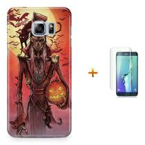 Kit Capa S6 Edge Halloween +Pel.VidrBD1 - Bd cases