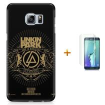 Kit Capa S6 Edge Linkin Park + Pel Vidro (BD30) - Bd cases