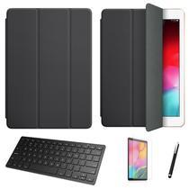 "Kit Capa Smart Case Galaxy Tab S7 LTE SM-T875 11"" /Can/Pel e Teclado - Preto - Skin Zabom"