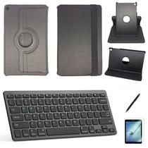 "Kit Capa/Teclado/Can/Pel Galaxy Tab A T290/T295 8"" Preto - Global Cases"